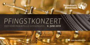 Pfingstkonzert der Vereinskapelle Gossensaß
