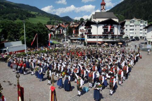 18. Bezirksmusikfest in Gossensaß - Sonntag