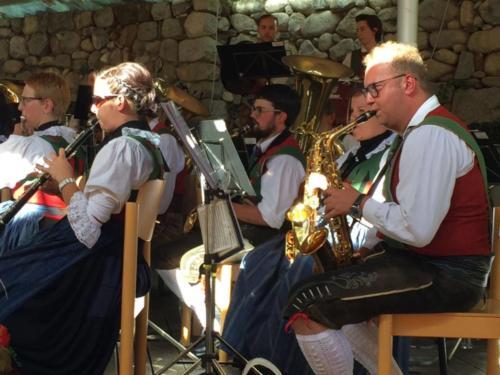 Konzert beim Musikfest in Neustift