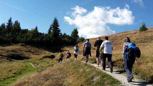 Ausflug zur Freundalm am Rosskopf