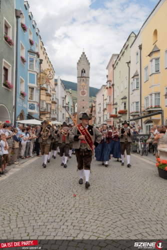 Bezirksmusikfest VSM Sterzing in Sterzing