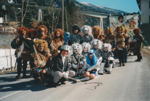 Faschingsumzug 2000
