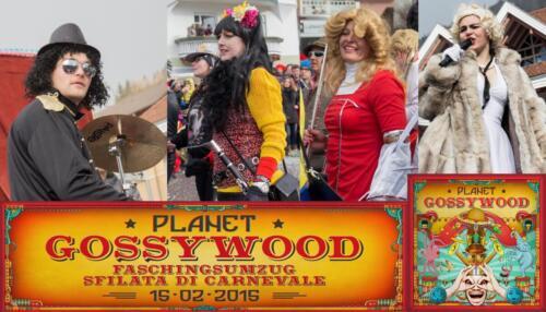 Faschingsumzug Planet Gossywood