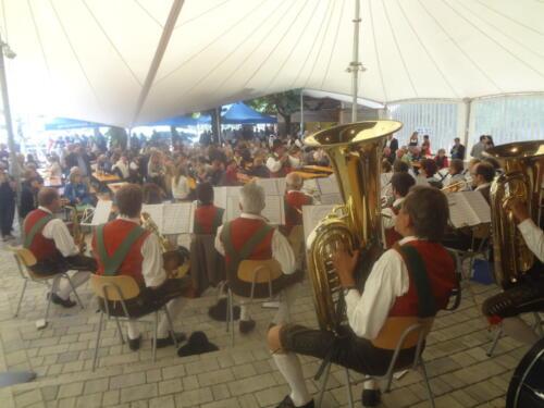 Frühschoppenkonzert in Gossensaß 15.08.2015