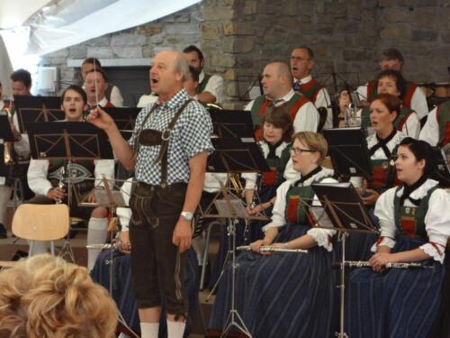 Frühschoppenkonzert Gossensaß 15.08.2012