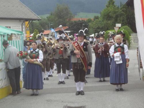 Einmarsch und Konzert beim Stubaier Talfest