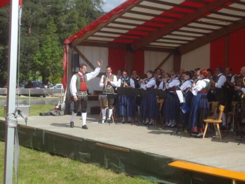 Konzert beim Sommerfest in Gummer