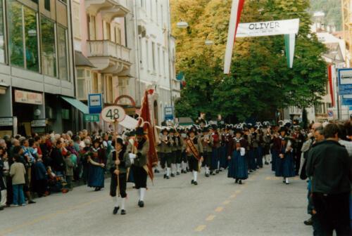 Umzug 14. Landesmusikfest in Meran
